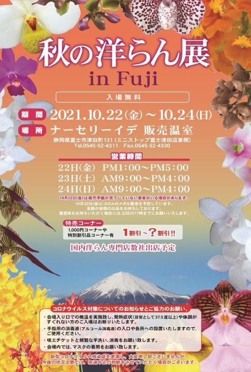 秋の洋らん展 in Fuji
